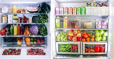 show     organise  fridge