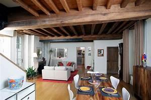 Maison Ancienne Moderne. cuisine moderne dans chalet pr l vement d ...