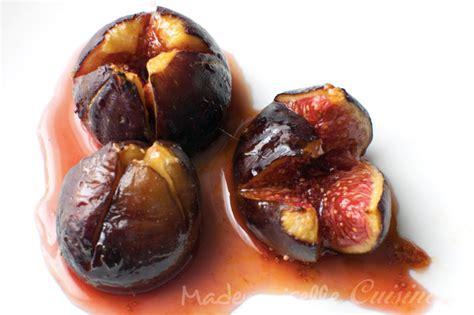 figues roties au miel recette de cuisine mademoiselle cuisine recettes astuces actu cuisine