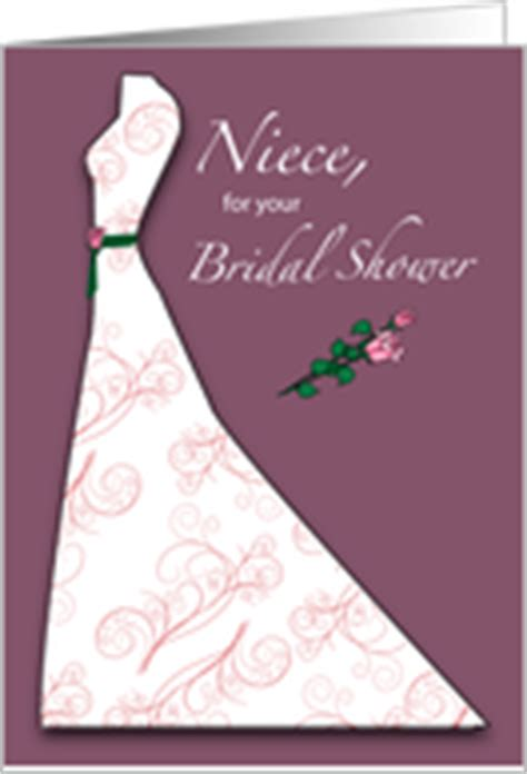 bridal shower cards  niece  greeting card universe