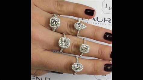collection lauren  handmade engagement rings youtube