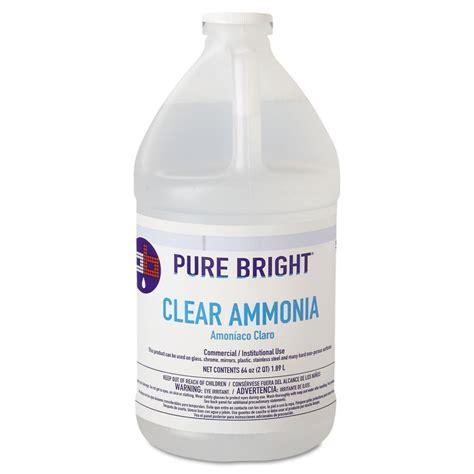 cleaning with ammonia purebright clear ammonia kik19703575033 ebay