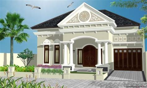 gaya rumah mediterania sederhana rumah minimalis house design