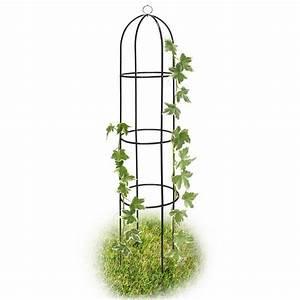 Arche Metal Pour Plante Grimpante : gloriette colonne ob lisque tuteur de jardin pour plantes ~ Premium-room.com Idées de Décoration