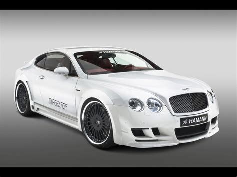 White Bentley Continental Wallpaper Wallpaper