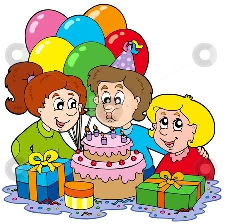 Birthday Pictures Clip Celebration Clipart Birthday Pencil And In Color
