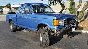 1990 F 150 6 Inch Suspension Lift With Custom Front Bumper