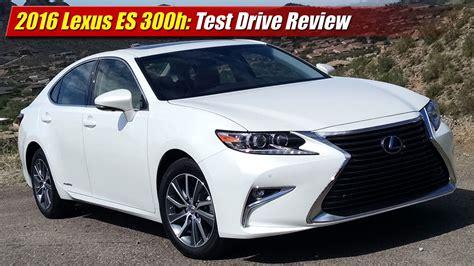 test drive review  lexus es  testdriventv