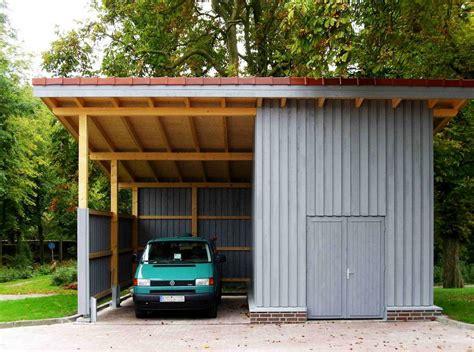 Carports Und Garagen  Dr Jeschke Holzbau