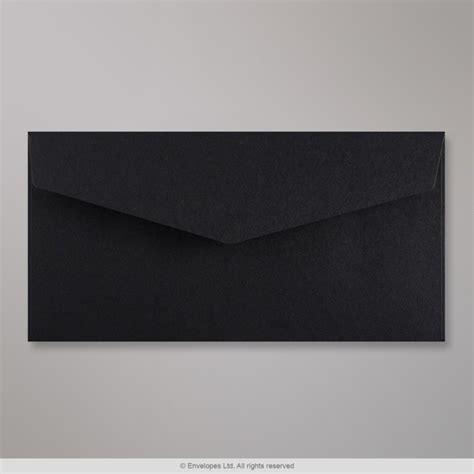 mm dl black  flap peel seal envelope cevdlb
