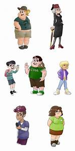 Gravity Falls genderswappin 2 by plutotes on DeviantArt