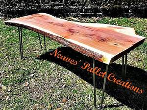 17 best images about neaves pallet creations and more With rough edge wood coffee table