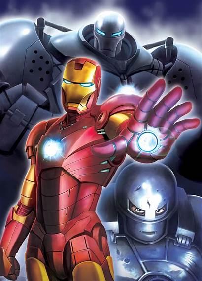 Iron Marvel Character Monger Stane Obadiah Anime