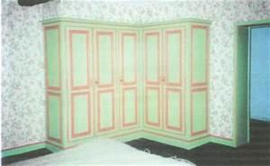 Placard D Angle : placard d 39 angle louis philippe en sapin placard chambre meuble marcelis luc ~ Teatrodelosmanantiales.com Idées de Décoration