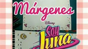 Márgenes para tus cuadernos kawaii de Soy Luna YouTube