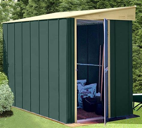 metal lean to shed 4 x 6 shed baron grandale lean to metal shed what shed