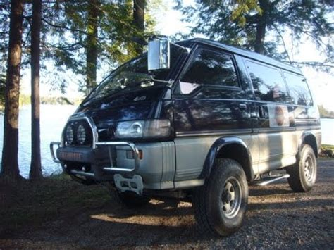 1994 mitsubishi delica starwagon chamonix l300 p35 diesel 4x4 the walking talking tour