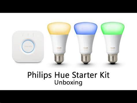 philips hue starter kit unboxing  generation youtube