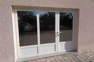 baie vitre pour garage volet roulant de porte de garage With baie vitrée volet roulant pour remplacer porte garage