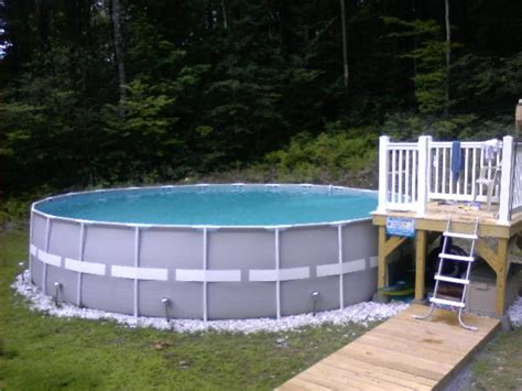 Image Result For Pool Deck And Steps To Above Ground Pools