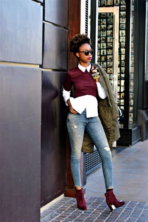 45 Casual Work Outfits For Black Women - Fashiondioxide