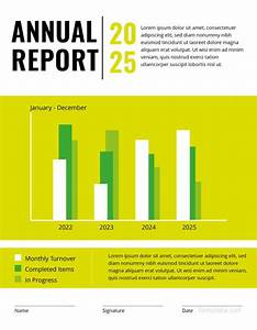 Annual Report Templates Word