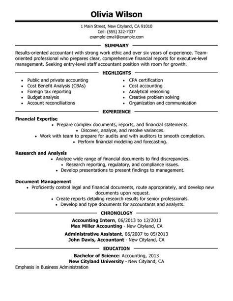 Examples & how to write an objective for a job. Staff Accountant Resume Examples - Free to Try Today   MyPerfectResume