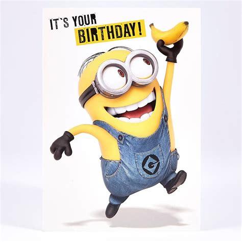 Humour Birthday Card  Minions  Card Factory