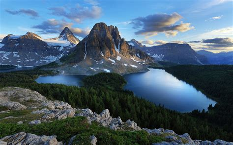 le bureau de victor fond ecran hd paysage nature sauvage montagne et lac