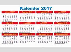 10 desain kalender 2017 Indonesia lengkap dengan hari