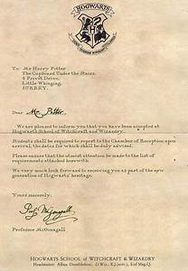 hogwarts acceptance letter from harry potter we heart it With harry potter hogwarts acceptance letter pdf