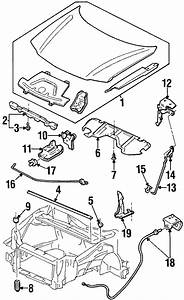 Oldsmobile Silhouette Clip  Rod  Lock  Convertible  Switch