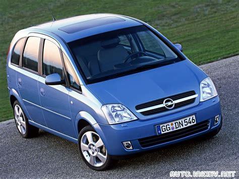 Opel Meriva 2003 Specifications Description Photos