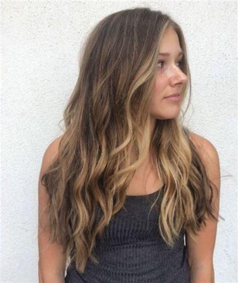 Sun In Brown Hair by 25 Beautiful Sun Bleached Hair Ideas On