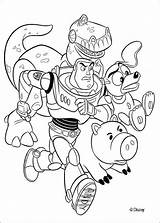 Toy Story Pages Coloring Printable Toys Disney Gang Buzz sketch template