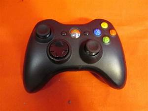 Xbox 360 Wireless Controller Black Modded
