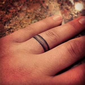 wedding band tattoo sweet tats pinterest wedding With mens wedding ring tattoos