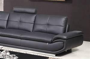 Canape Angle 6 7 Places : canap d 39 angle en cuir buffle italien de luxe 6 7 places bellaligna noir angle gauche ~ Maxctalentgroup.com Avis de Voitures