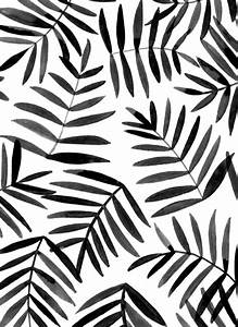black leaves #ink #pattern | patterns and pretty things ...
