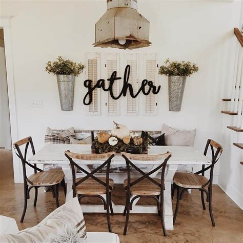Hobby Lobby Wall Decor Sayings by 37 Best Farmhouse Dining Room Design And Decor Ideas For 2017