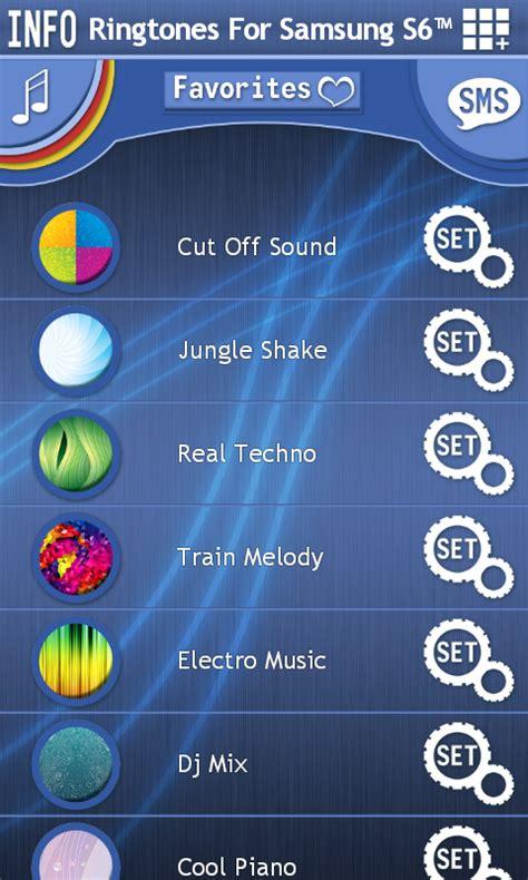 free ringtones for android samsung ringtones for samsung s6 free app android freeware