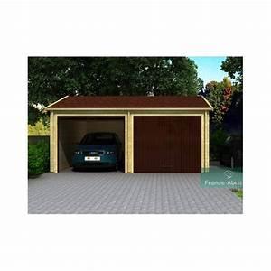 Garage Pour Voiture : dimension garage double voiture dimension standard d un ~ Voncanada.com Idées de Décoration