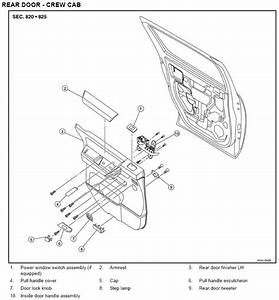 Nissan Titan Interior Parts Diagram