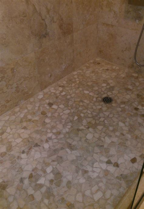 mosaic shower floor tile mixed quartz mosaic tile shower floor pebble tile shop