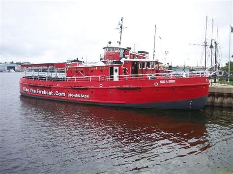 Fireboat Ride Sturgeon Bay by Chicago Boat Picture Of Door County Fireboat