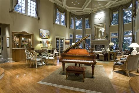 marvelous ideas   decorate living room  piano