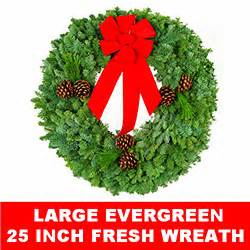 Christmas Decorations Wreaths Live And Fresh Live