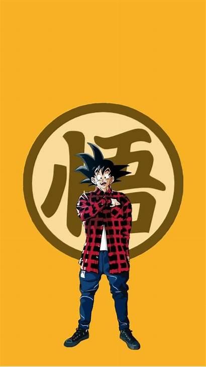 Goku Wallpapers Gucci Dragon Ball Dbz Aesthetic