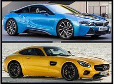 MercedesAMG GT S vs BMW i8 Comparison