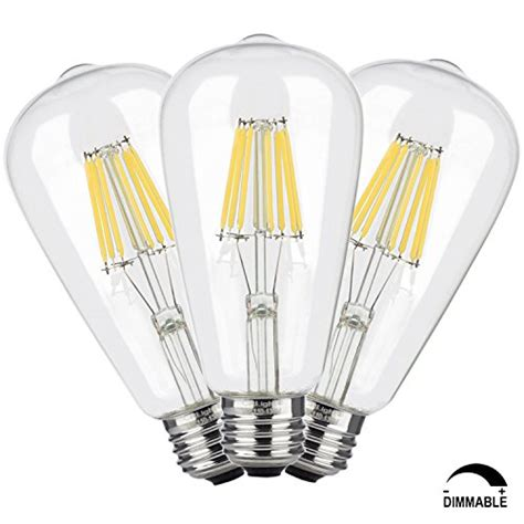 55 crlight 8w dimmable edison style vintage led